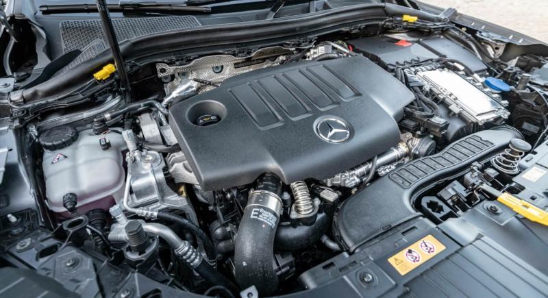 Двигатель Mercedes-Benz GLA