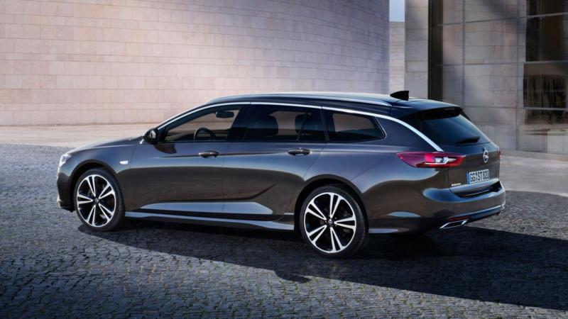 Opel Insignia вид сбоку