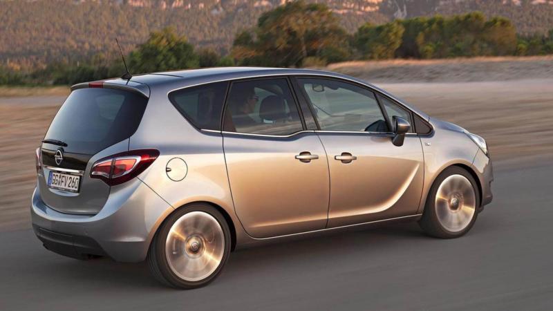Opel Meriva фото авто