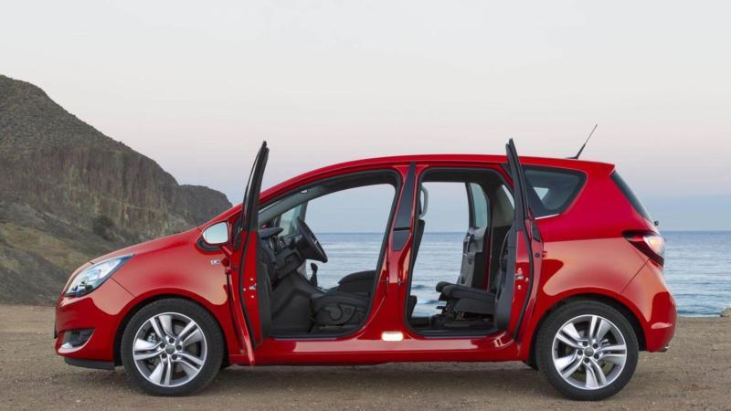 Новый Opel Meriva