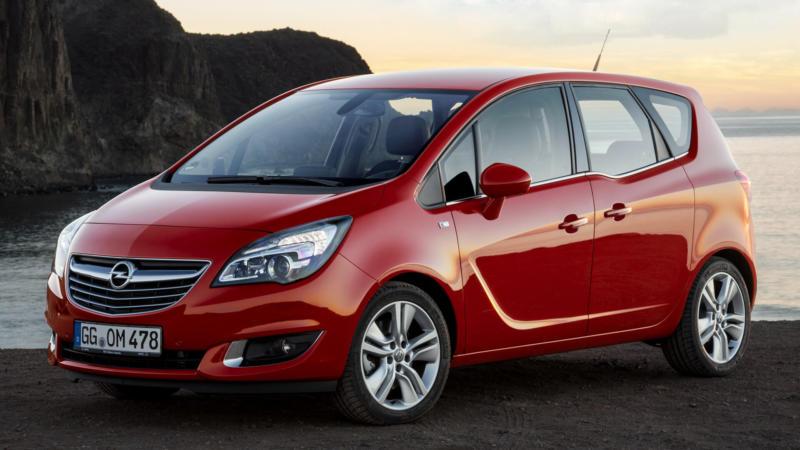 Фотография Opel Meriva