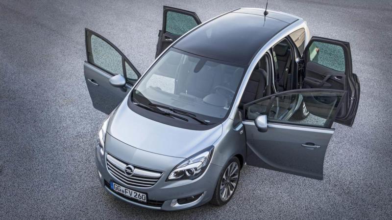 Рестайлинг Opel Meriva