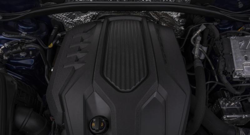 Двигатель Porsche Macan