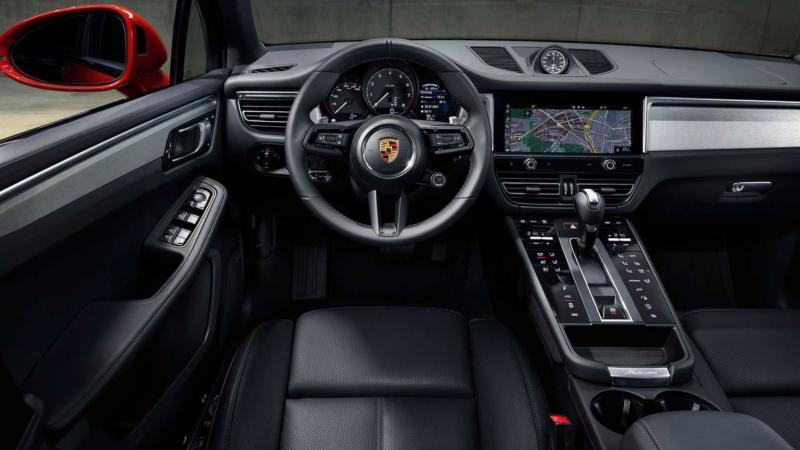 Интерьер Porsche Macan