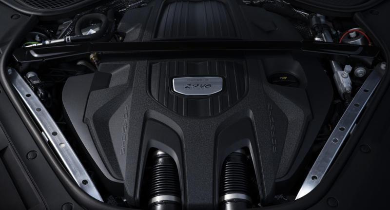 Двигатель Porsche Panamera