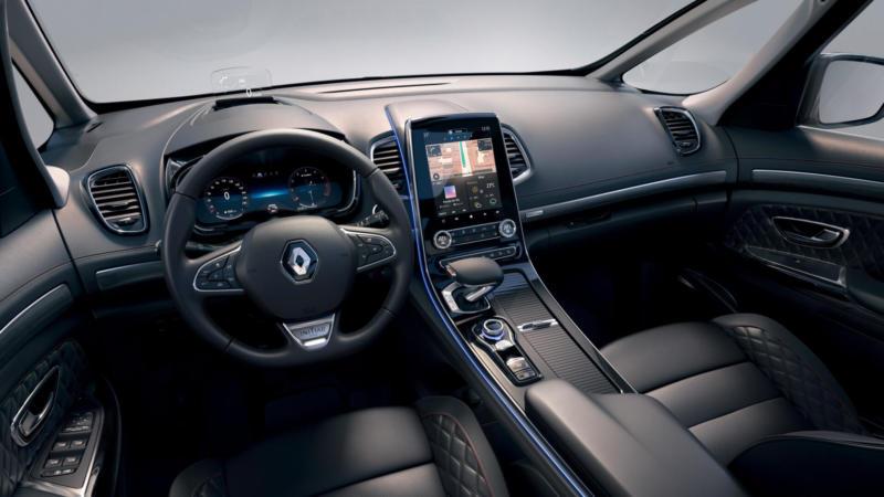 Интерьер Renault Espace