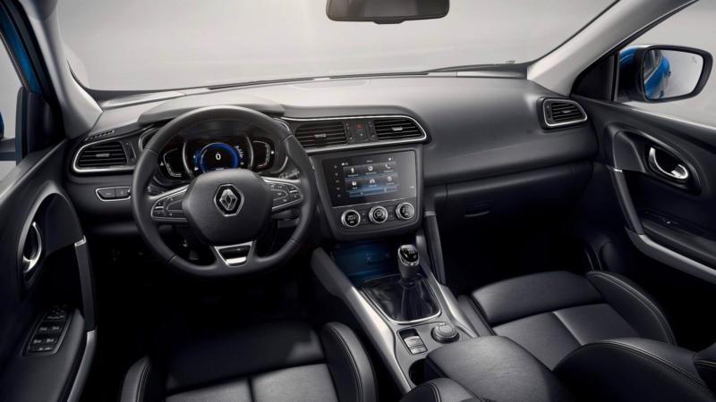 Интерьер Renault Kadjar