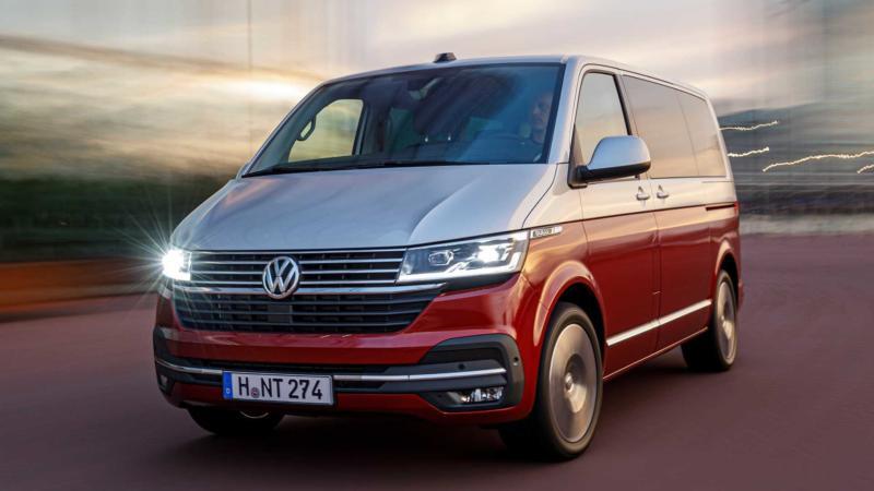 Новый Volkswagen Multivan