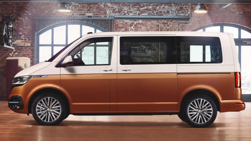 Volkswagen Multivan вид сбоку
