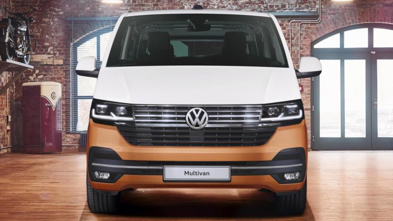 Volkswagen Multivan вид спереди