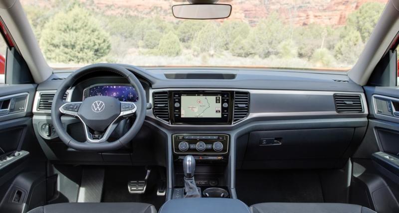 Интерьер Volkswagen Teramont
