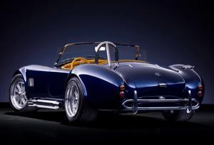 AC Shelby Cobra вид сзади