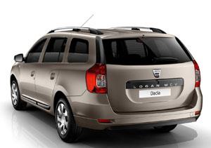Dacia Logan MCV вид сзади