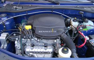 Dacia Logan MCV двигатель