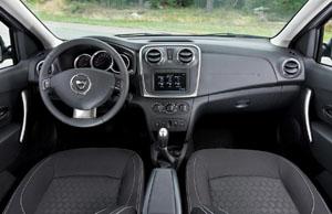 Dacia Logan MCV салон