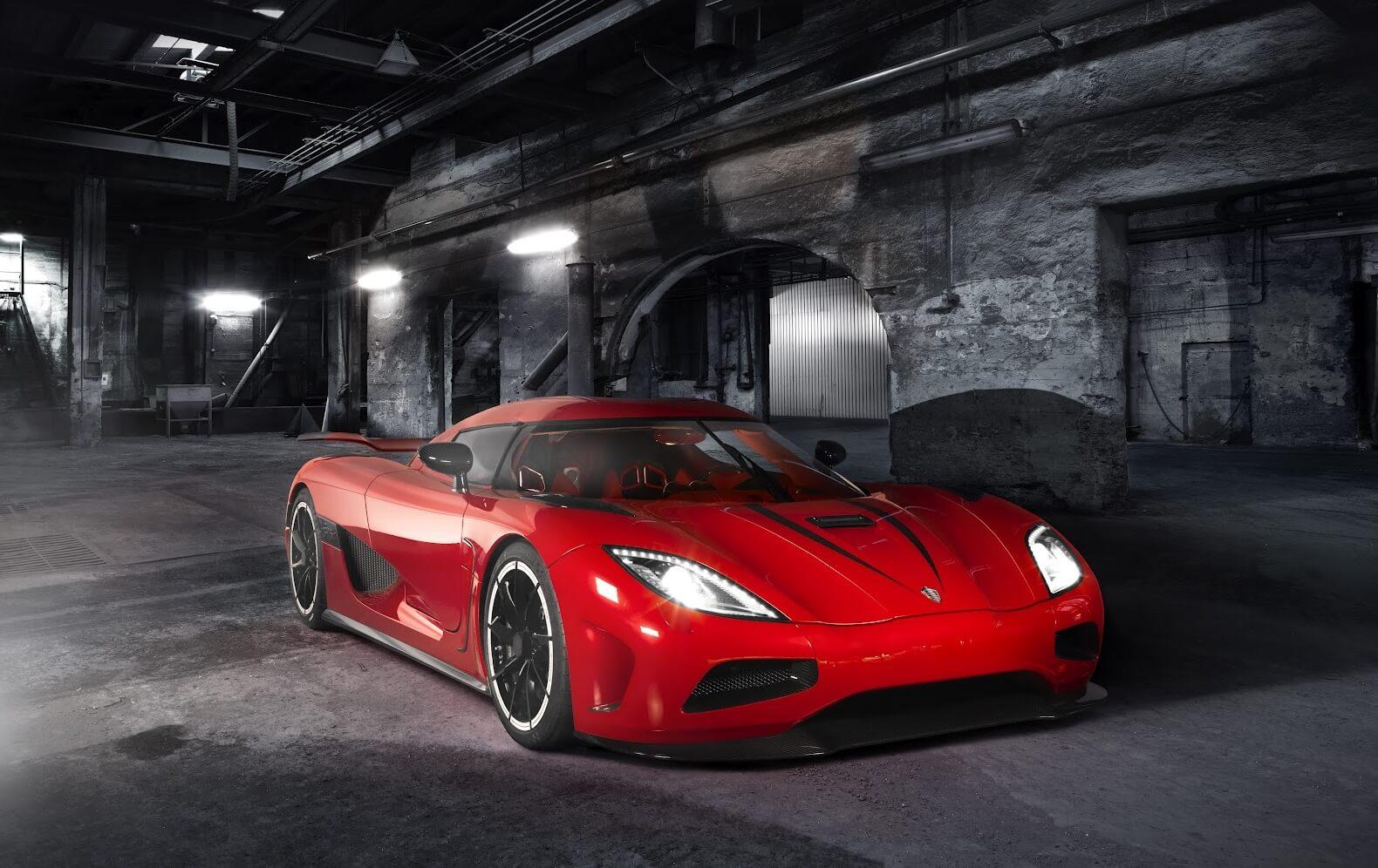 Koenigsegg Agera R красный