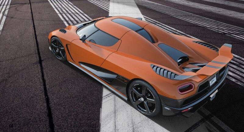Суперкар Koenigsegg Agera R