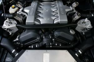 Aston Martin Vanquish двигатель