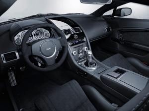 Aston Martin Vanquish салон