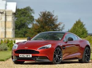 Aston Martin Vanquish фото