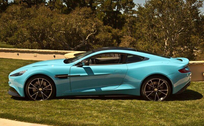 Aston Martin Vanquish 2014 года