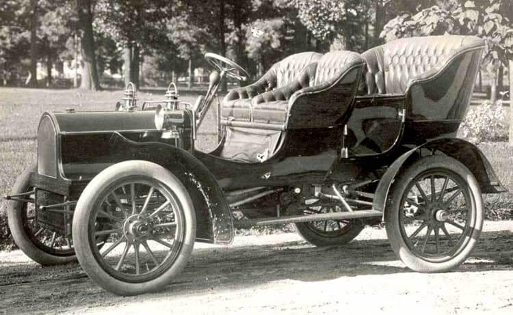 Buick В 1904 года
