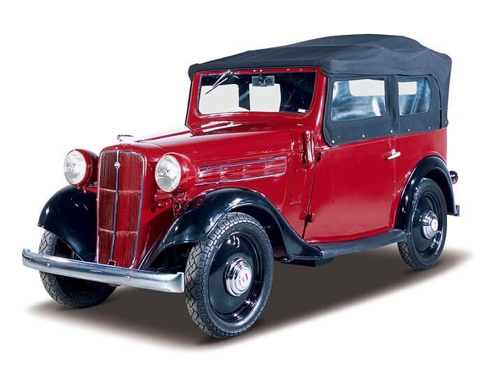 Datsun 17 Phaeton 1938 года