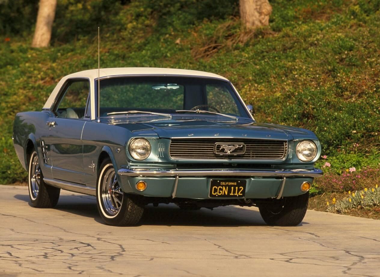 ford mustang 1967 производства e