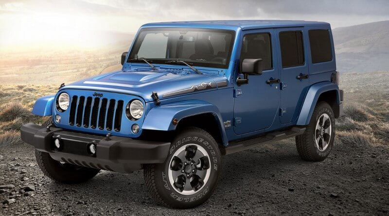 Jeep Wrangler внедорожник