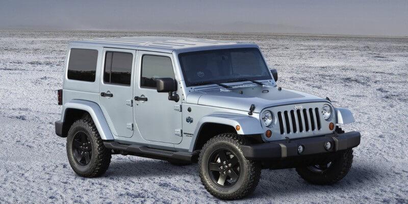Jeep Wrangler фотография