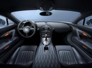 Bugatti Veyron салон