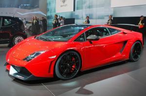 Lamborghini Gallardo красный