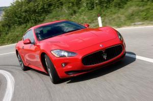 Maserati GranTurismo вид спереди