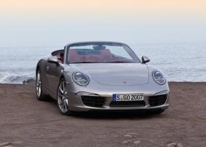 Porsche 911 Carrera Cabriolet вид спереди