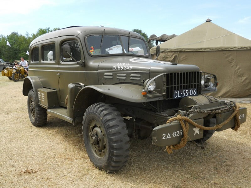 Dodge WC Carryall 1943 года