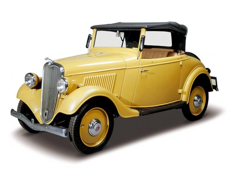 Datsun 14 Roadster 1935 года