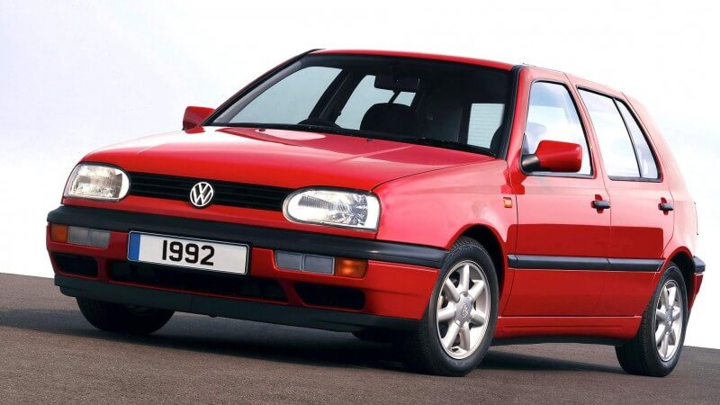Volkswagen Golf 1992 года