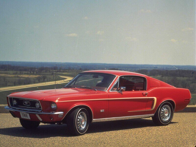 Ford Mustang 1968 года
