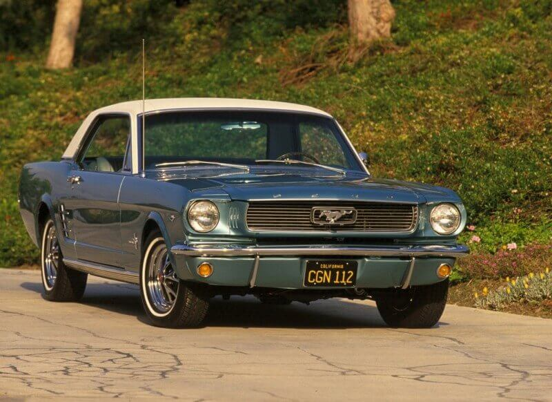 Ford Mustang Coupe 1966 года
