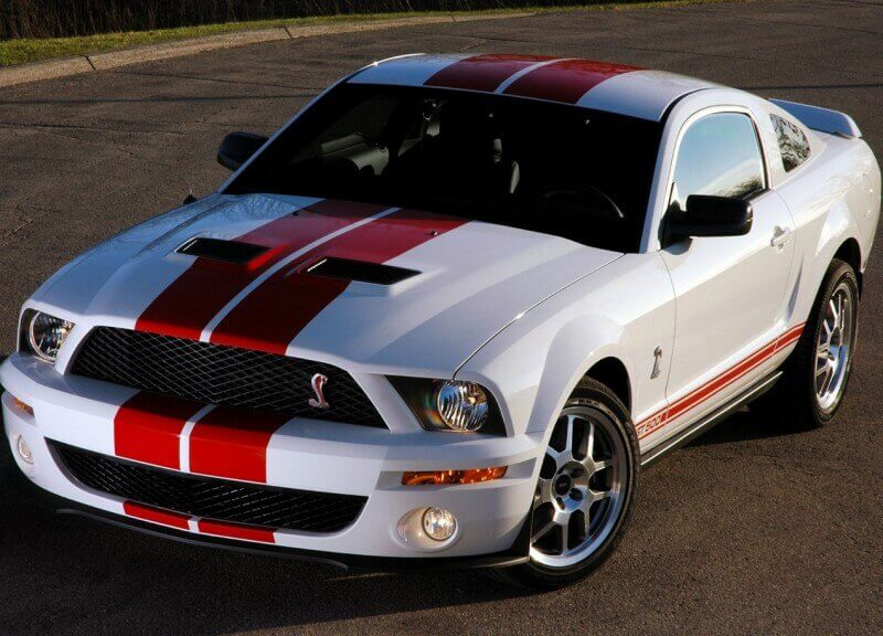 Ford Mustang Shelby GT500 Red Stripe (2007)