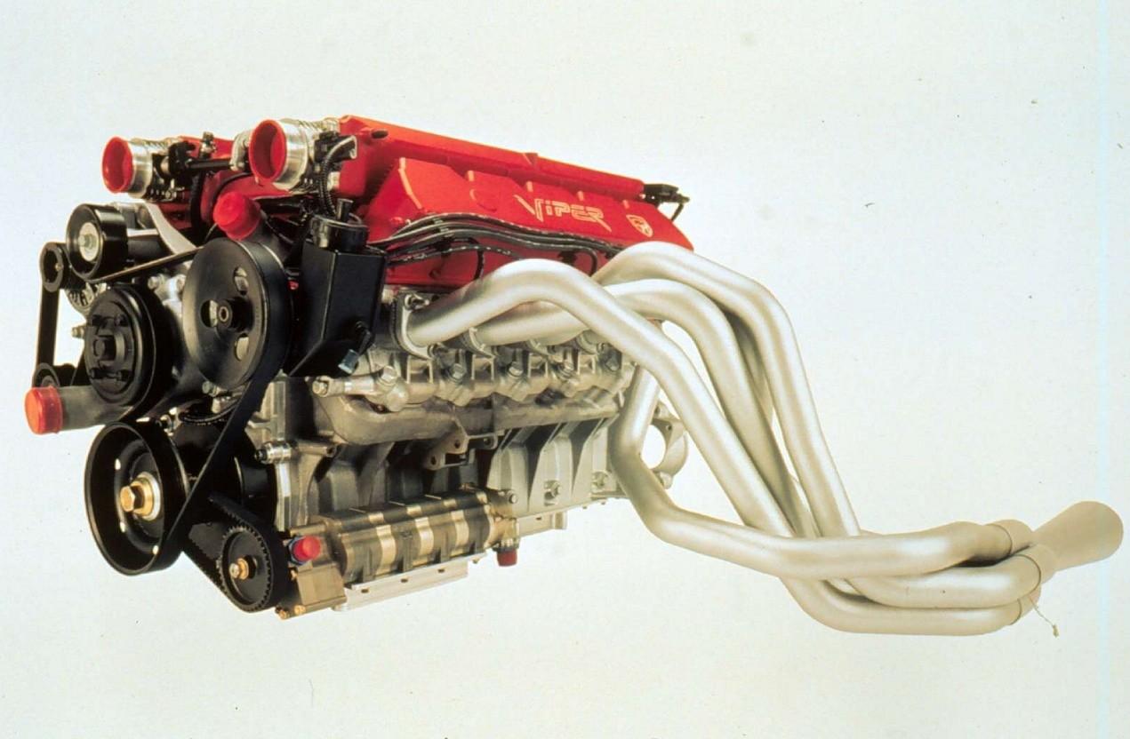 Dodge Viper GTS-R двигатель