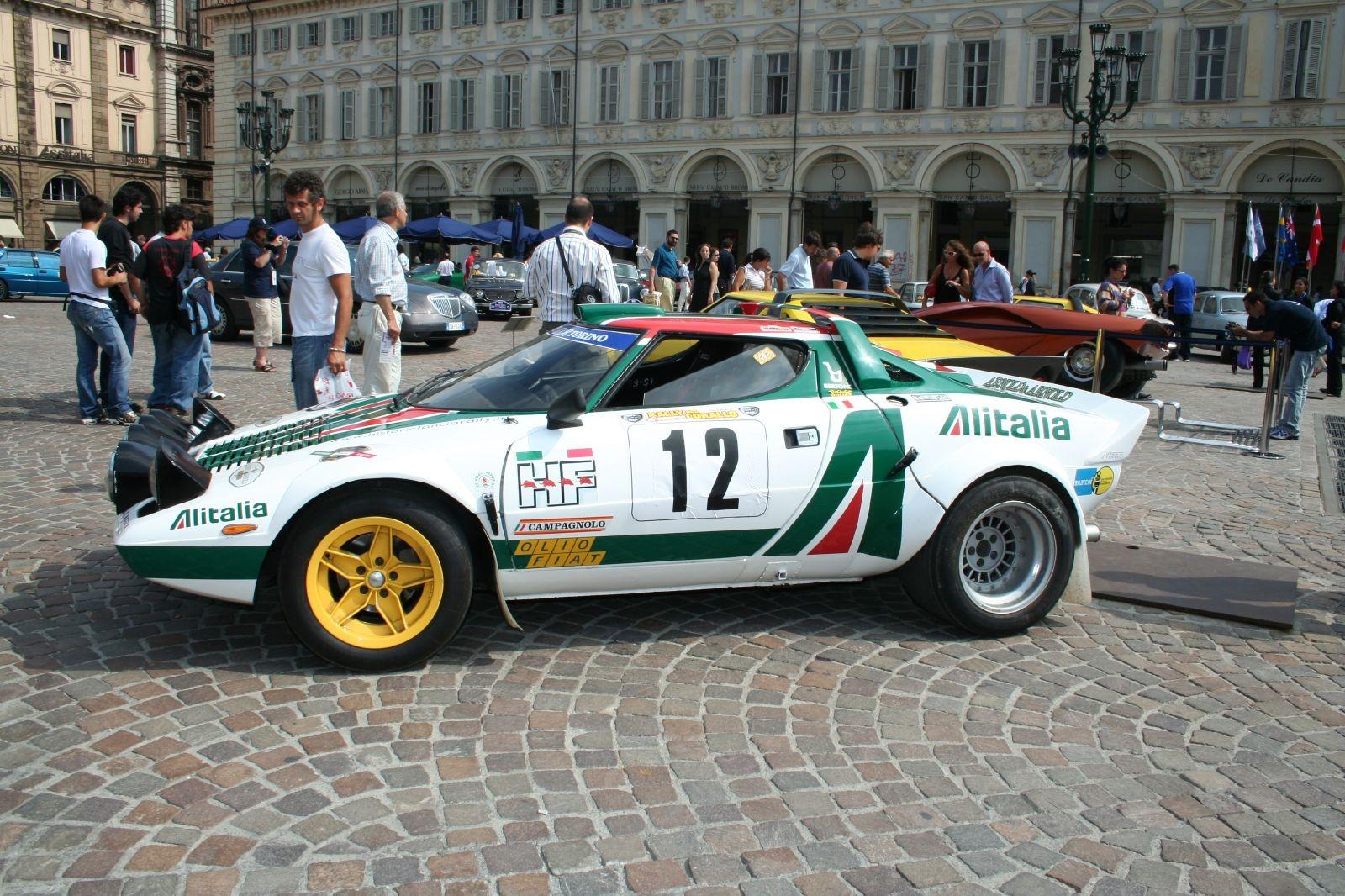 Lancia Stratos Photo car
