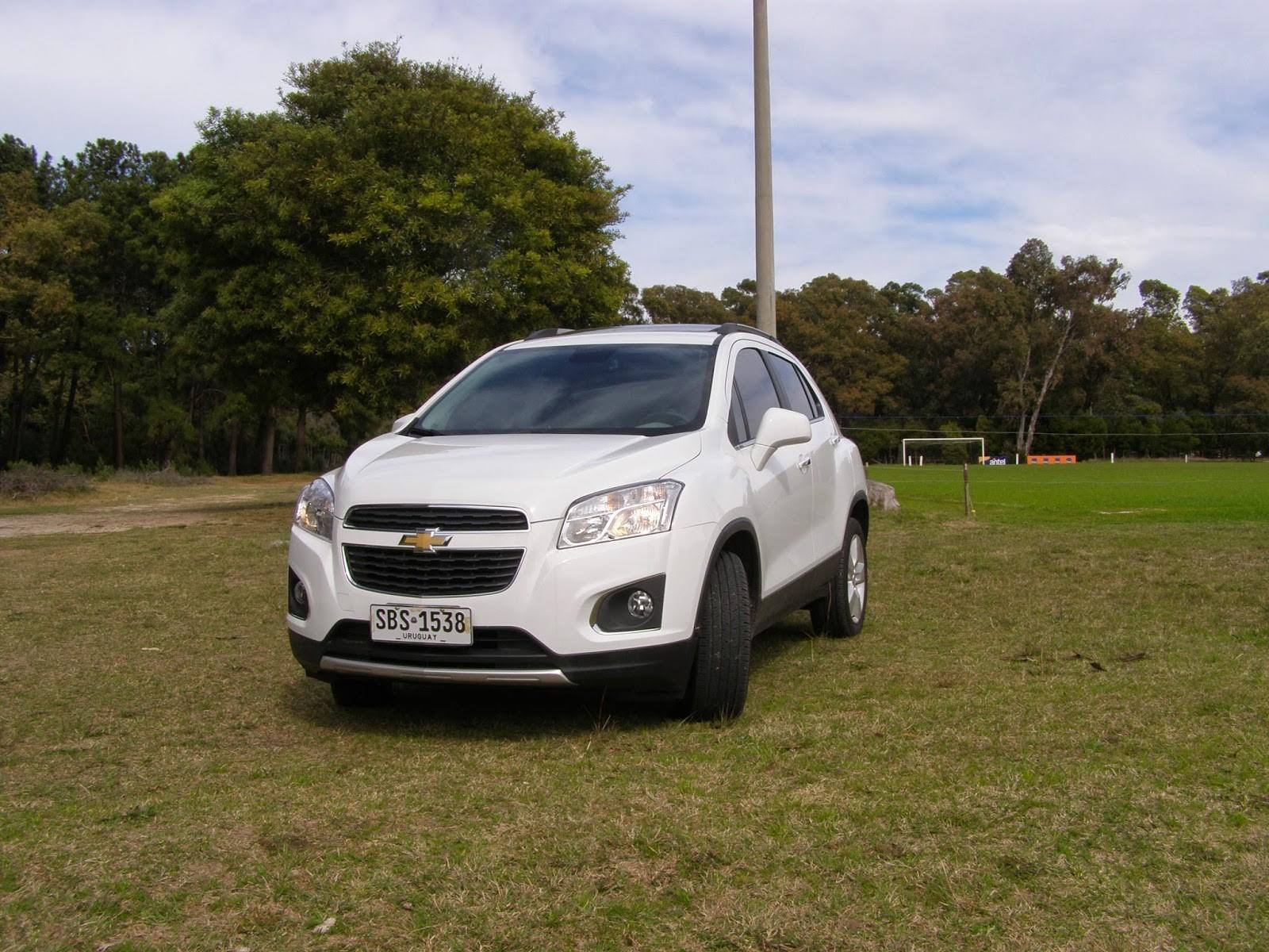 Chevrolet Tracker Белый