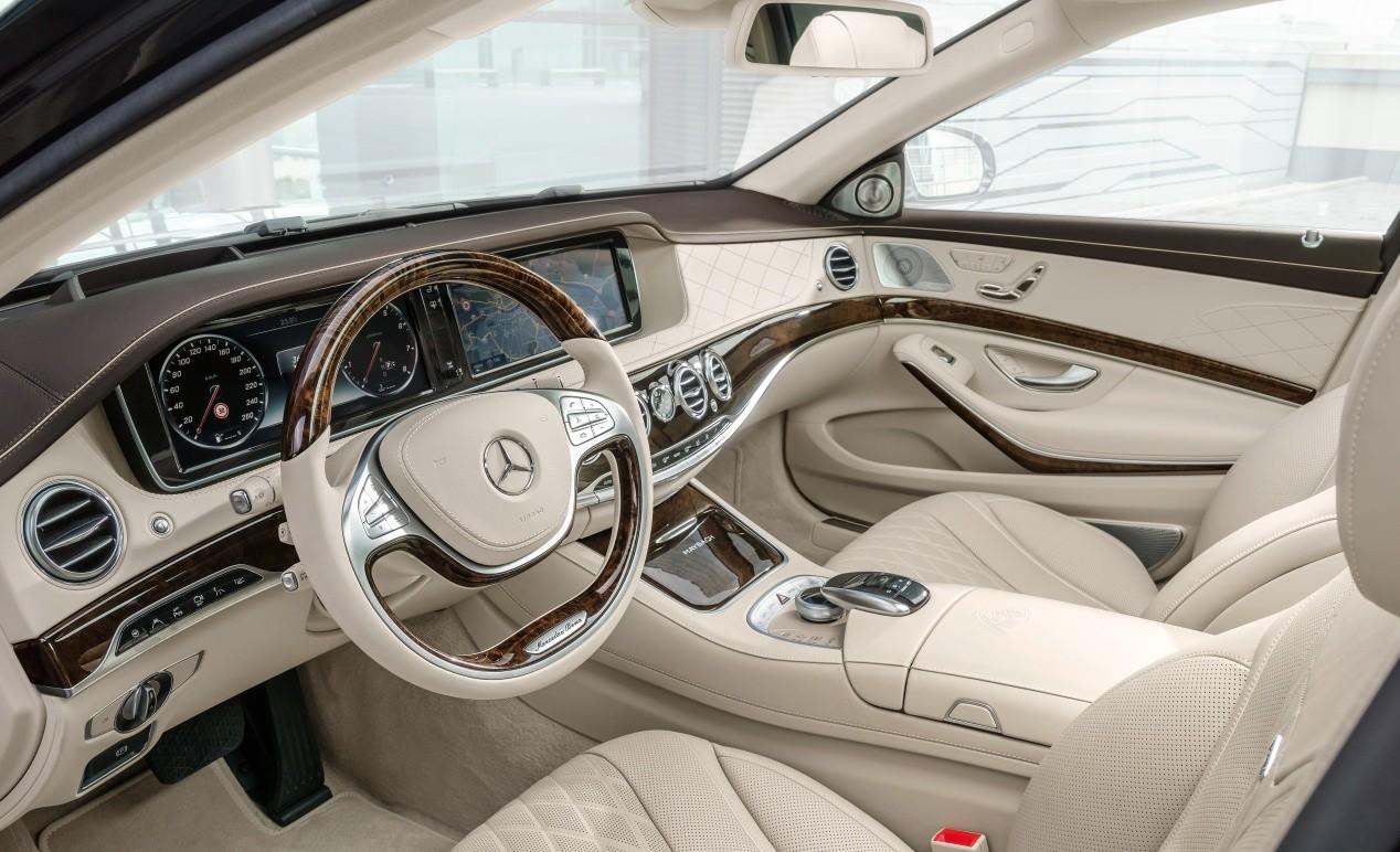 Mercedes Maybach S600 салон