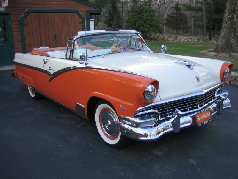 Ford Sunliner Convertible
