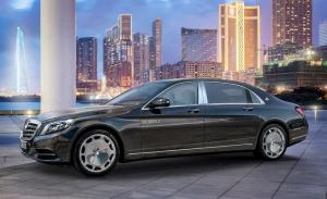 Mercedes Maybach S600 вид сбоку