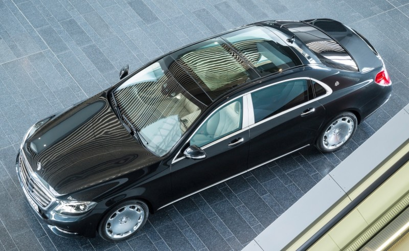 Mercedes Maybach S600 седан