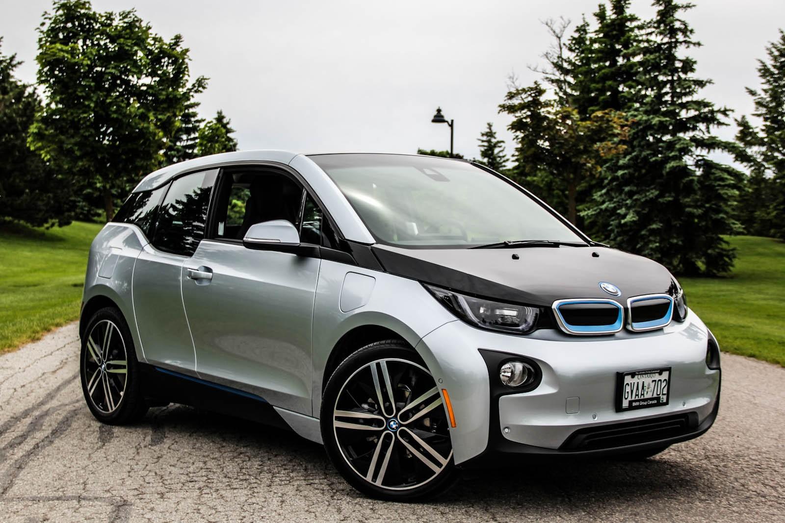 BMW i3 электромобиль
