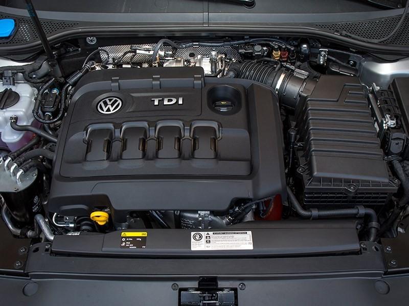 Volkswagen Passat B8 мотор