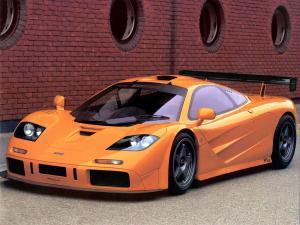 McLaren F1 суперкар